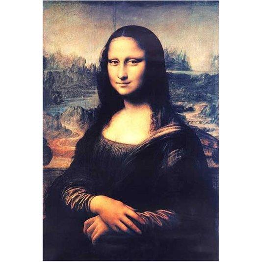 Gravura para Quadros Gioconda Mona Lisa Leonardo da Vinci 51x74cm