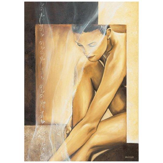 Gravura para Quadros Mulher Nu Artístico 50x70cm