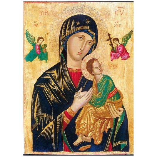 Gravura para Quadros Nossa Senhora do Perpétuo Socorro 50x70cm