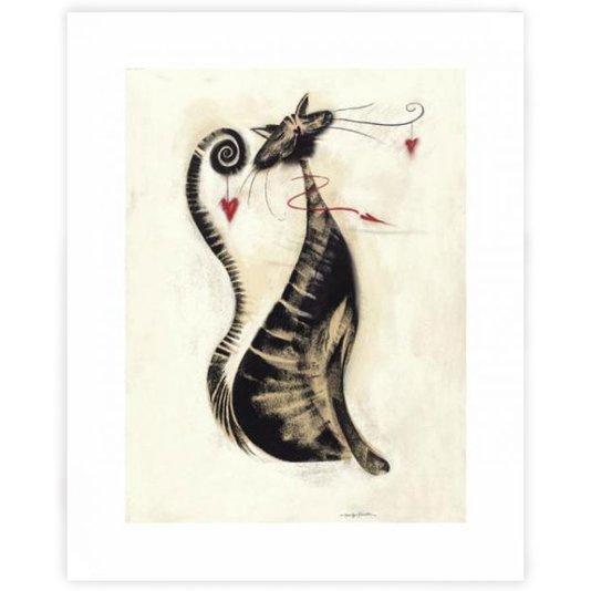 Gravura para Quadros O Gato Leopold 40x50cm