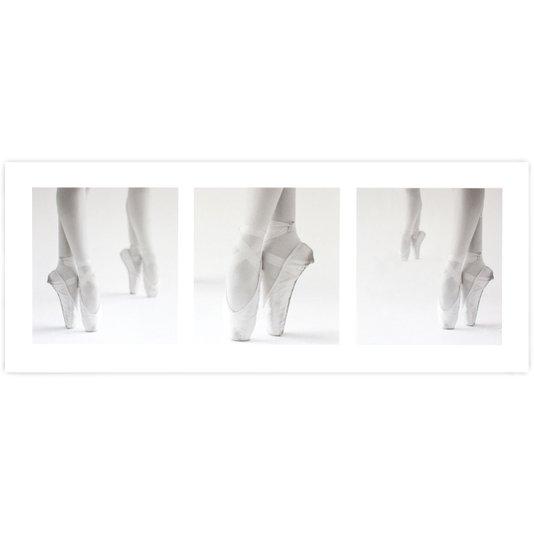 Gravura para Quadros Pés Bailarina de Ballet 50x20cm