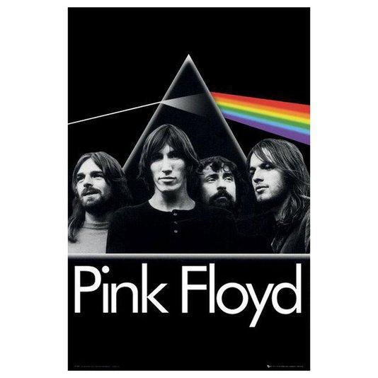 Gravura para Quadros Pink Floyd Capa do Álbum The Dark Side Of The Moon 60x90cm