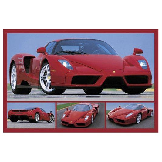 Gravura para Quadros Poster Ferrari Enzo 90x60cm
