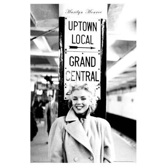 Gravura para Quadros Poster Marilyn Monroe 60x90cm