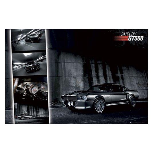 Gravura para Quadros Poster Shelby GT500 90x60cm