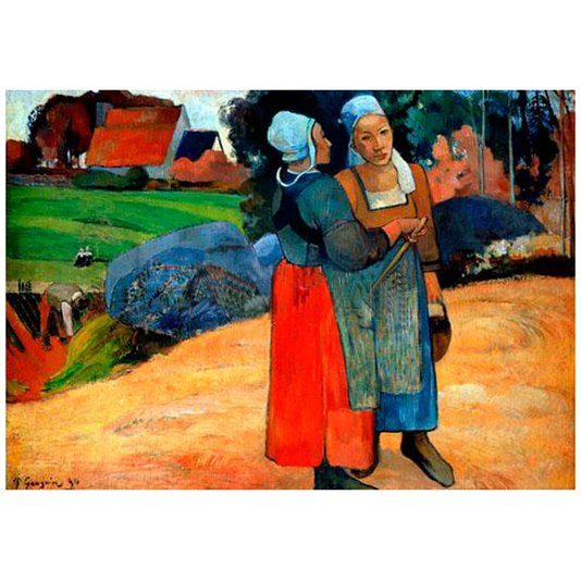 Gravura para Quadros Reprodução Obra de Arte Paul Gauguin 74x52cm