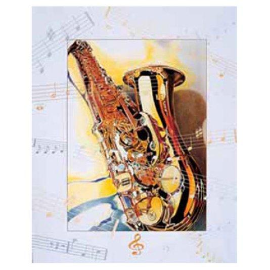 Gravura para Quadros Saxofone 40x50cm
