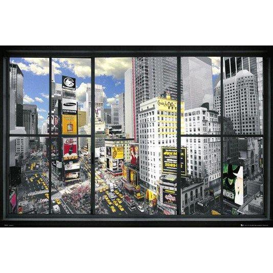 Gravura para Quadros Times Square em Nova Iorque 90x60cm