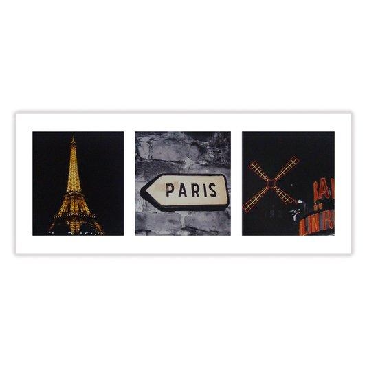 Gravura para Quadros Torre Eiffel Paris 50x20cm