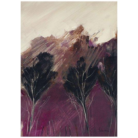 Gravura para Quadros Três Árvores Abstratas 50x70cm