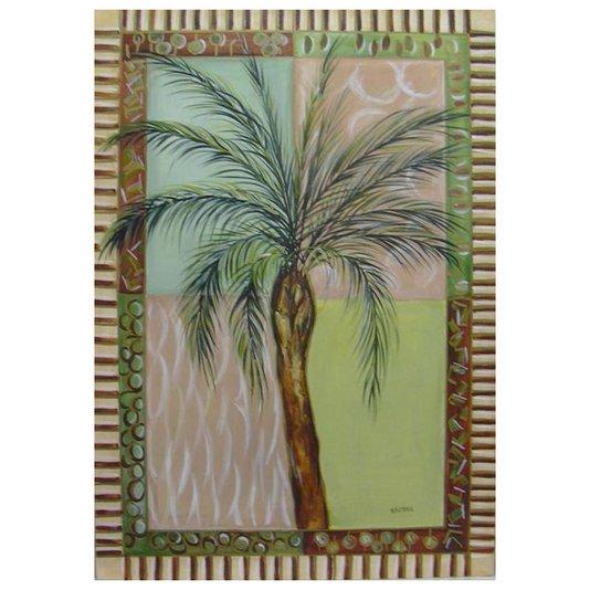 Gravura para Quadros Tropical Coqueiro 50x70cm
