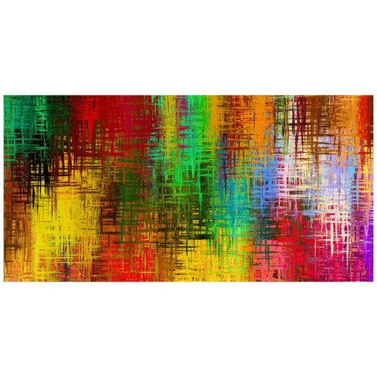 Gravura Imagem para Quadros Abstrata 140x70cm
