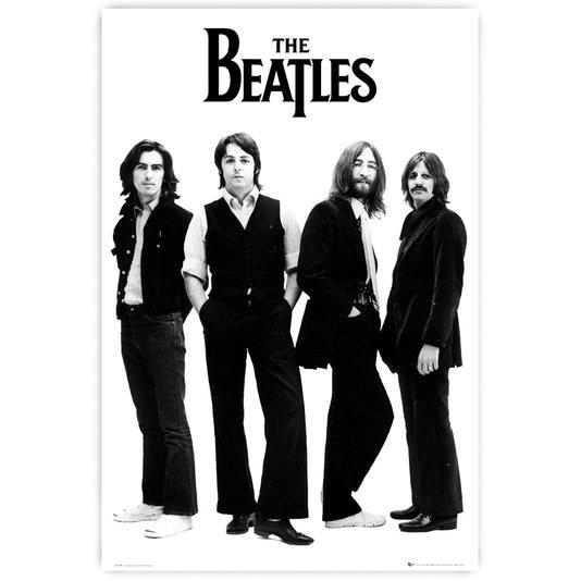 Gravura Poster para Quadros Álbum Banda The Beatles 60x90cm