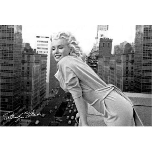 Gravura Poster para Quadros Atriz Marilyn Monroe 90x60cm
