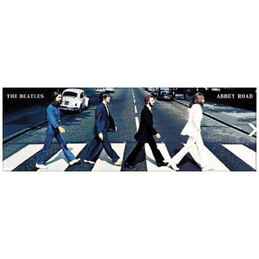 Gravura Poster para Quadros Capa Álbum Abbey Road The Beatles 158x53cm