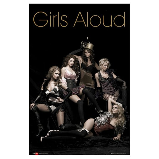 Gravura Poster para Quadros Grupo Musical Girls Aloud 60x90cm