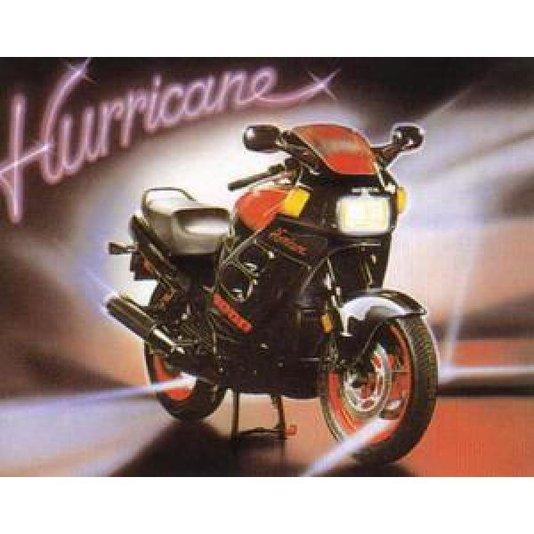 Gravura Poster para Quadros Moto Esportiva Hurricane 50x40cm