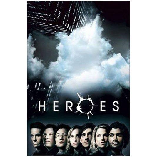 Gravura Poster para Quadros Série Heroes 60x90cm
