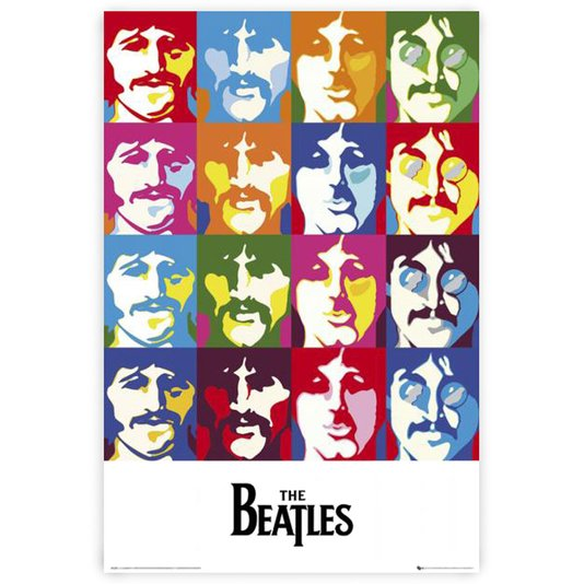 Gravura Poster para Quadros The Beatles 60x90cm