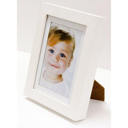 Porta Retrato com Moldura Branca para Foto 10x15cm