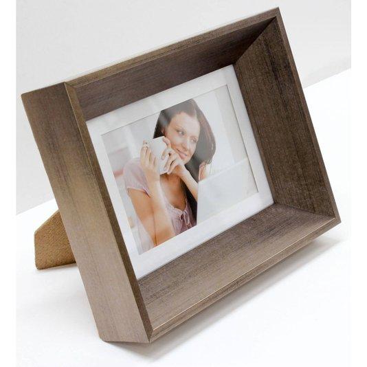 Porta Retrato Moldura Chanfrada Cobre para Foto 10x15cm