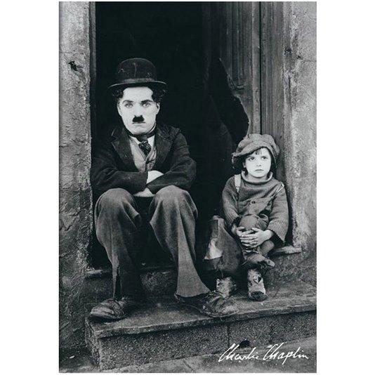 Poster Charlie Chaplin Doorway 60x90cm com/sem Moldura