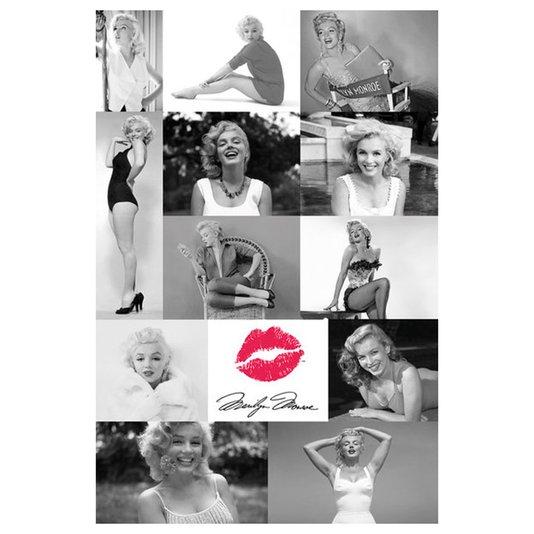 Poster Ícone Marilyn Monroe 60x90cm