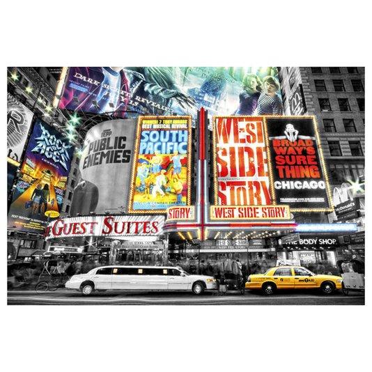 Poster New York Theatre 90x60cm com/sem Moldura