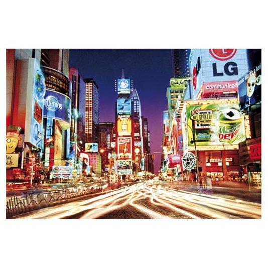 Poster New York Times Square Luzes 90x60cm com/sem Moldura