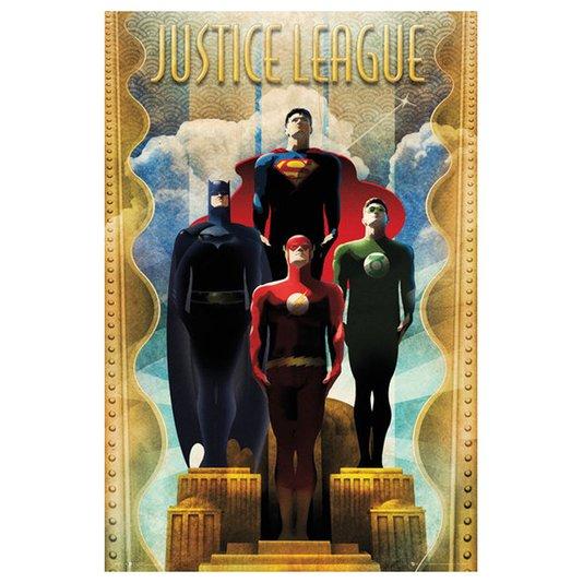 Poster para Quadros Justice League 60x90cm