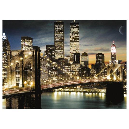 Poster para Quadros Nova York Ponte do Brooklyn Manhattan 140x100cm