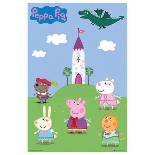 Poster para Quadros Peppa Pig 60x90cm