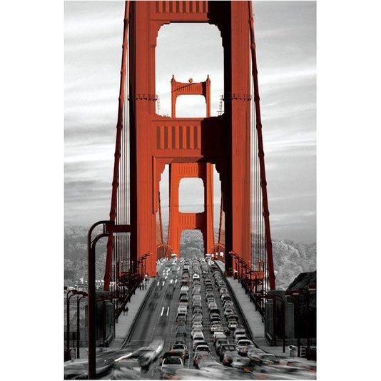 Poster Ponte Golden Gate San Francisco 60x90cm com/sem Moldura