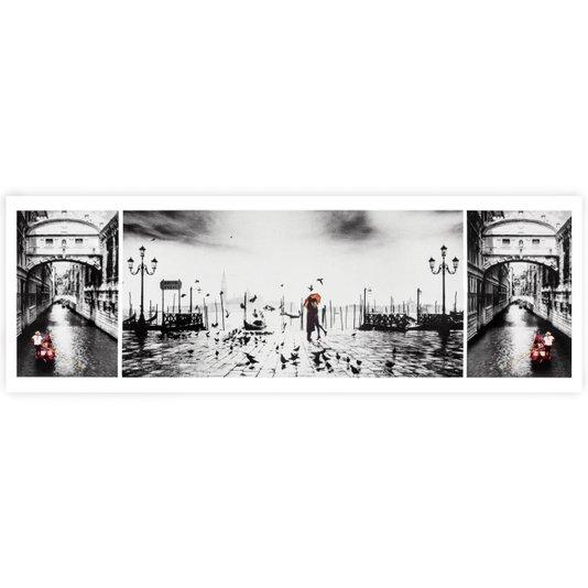 Poster Veneza Ponte dos Suspiros (Ponte Del Sospiri) 90x30cm com/sem Moldura