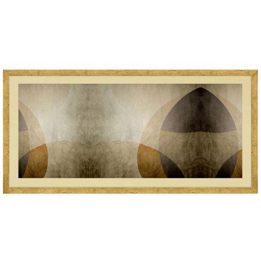 Quadro Abstrato Decorativo Tom Pastel 160x80cm