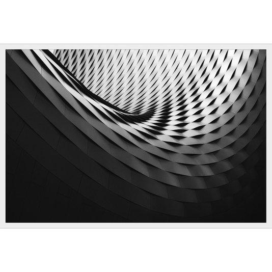 Quadro Arquitetura Art Basel na Suíça 90x60cm