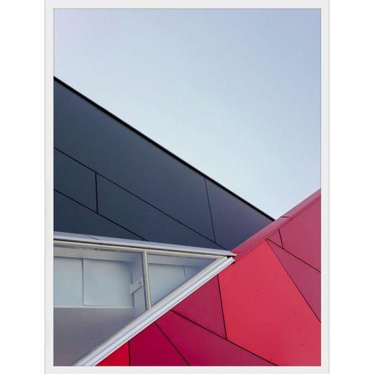 Quadro Arquitetura Centro Canadense de Validação de Produto 60x80cm