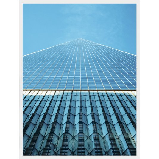 Quadro Arquitetura Edifício One World Trade Center 60x80cm