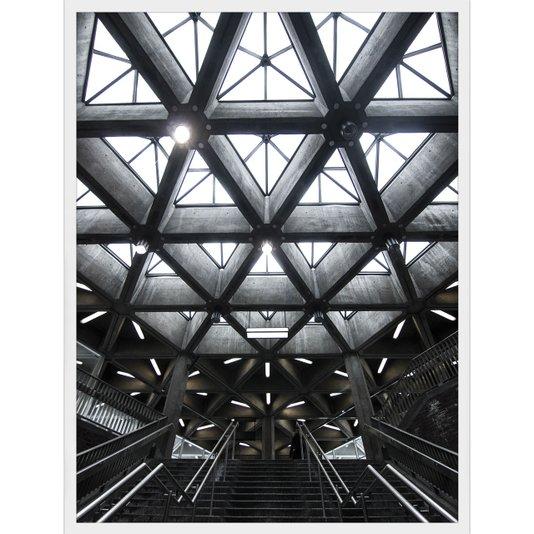 Quadro Arquitetura Interior de Edifício Montreal, Canada 60x80cm