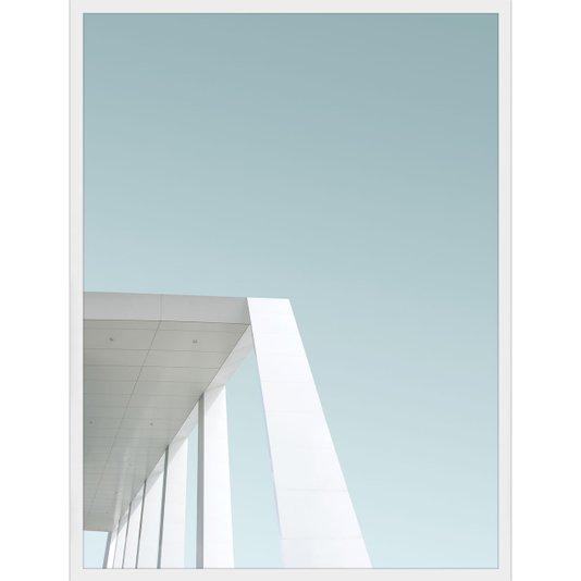 Quadro Arquitetura Moderna Pilar de Edifício na Inglaterra - Slough 60x80cm
