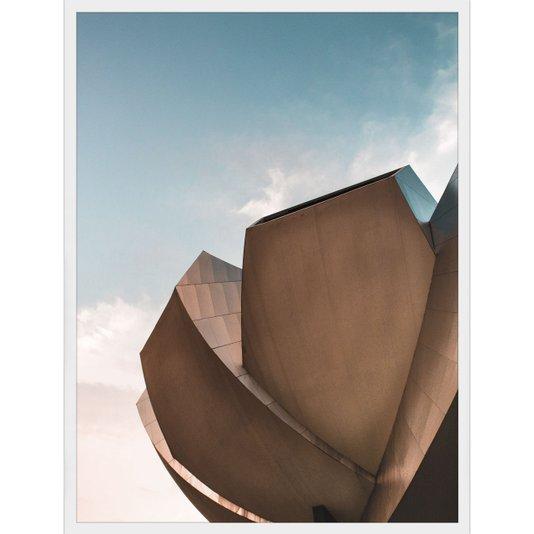 Quadro de Arquitetura Museu ArtScience em Singapura 60x80cm
