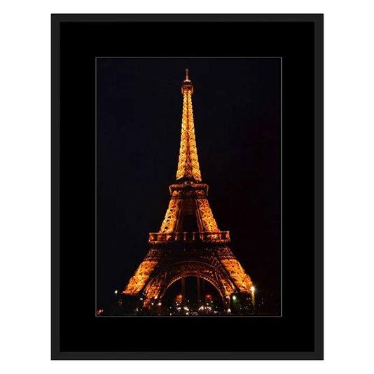 Quadro Decor Torre Eiffel Famoso Ponto Turístico de Paris 70x90cm