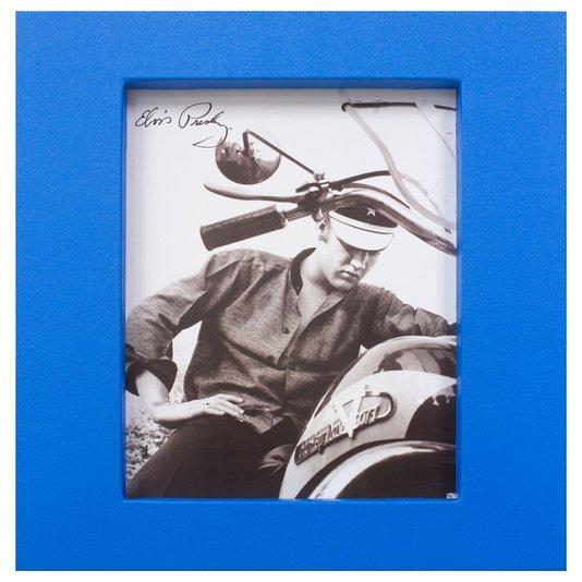 Quadro Decorativo com Moldura em Tecido Elvis Presley 60x65cm