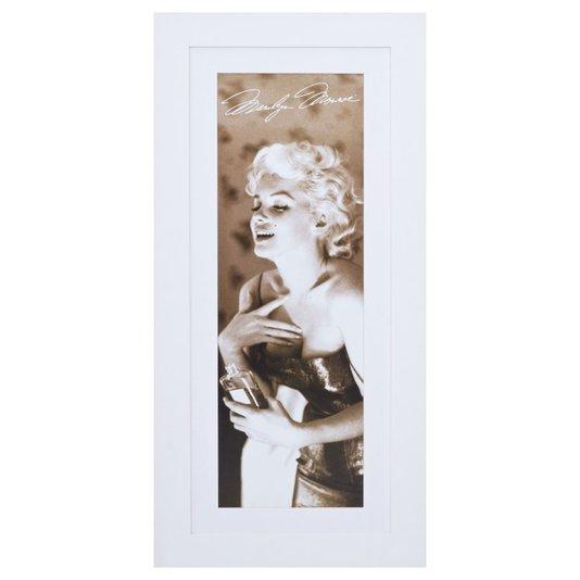 Quadro Decorativo Estrela Marilyn Monroe 50x110cm