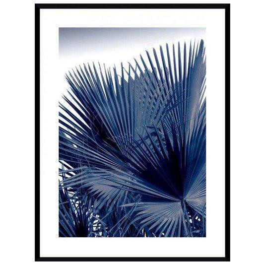 Quadro Decorativo Floral Folhas de Palmeira 90x120cm