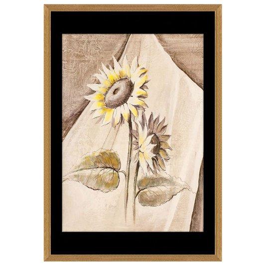 Quadro Decorativo Floral Girassol 60x90cm