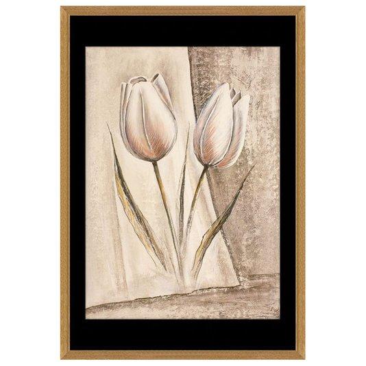 Quadro Decorativo Floral Tulipas 60x90cm