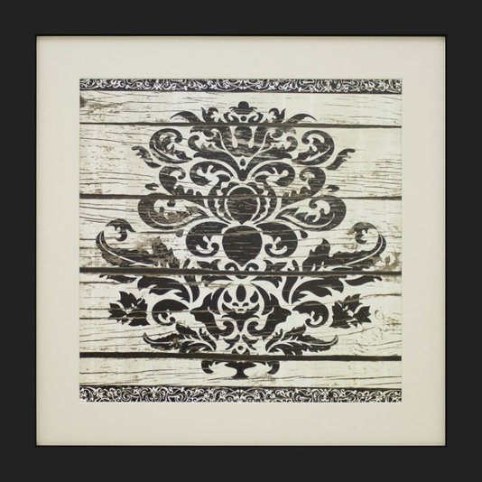 Quadro Decorativo Flores Abstratas 40x40cm - DP1551