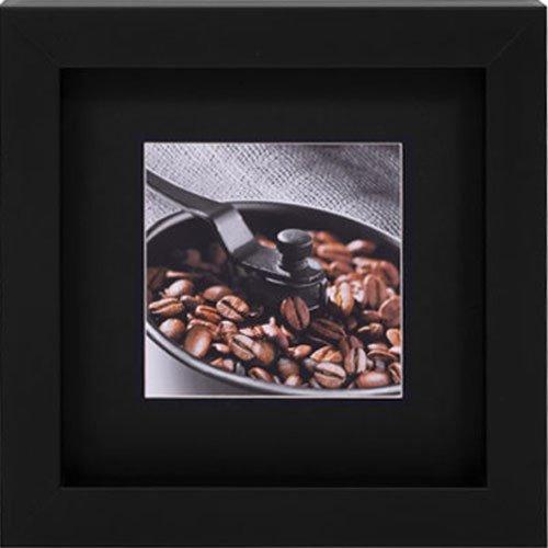 Quadro Decorativo Grãos de Café No Moedor 30x30cm