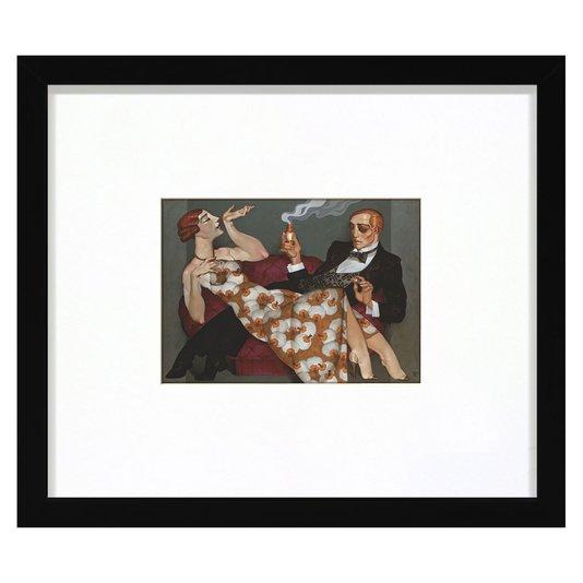 Quadro Decorativo Juarez Machado Fragance Séduisante 35x30cm